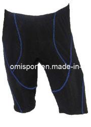 Мужчины' велосипеде коротких замыканий черный пользовательские спортивные брюки