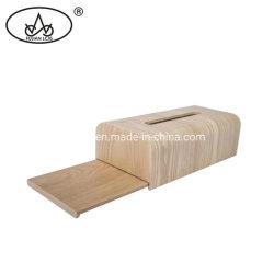 خشبيّة [هندمد] حرفة منزل زخرفة ورقة حامل فوطة مطبخ نسيج صندوق