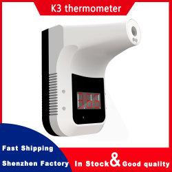 Reales Hersteller-preiswertes Preis-an der Wand befestigtes Temperatur-Messen-Instrument-Infrarotthermometer K3