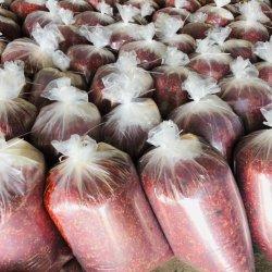 Nahrhaftes und gesundes gewürztes rotes Pfefferpulver/würziges Essen
