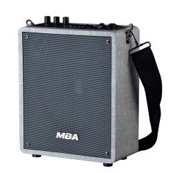 """"""" Innenminifehlerfreier Hifi hölzerner Audiocomputer-beweglicher aktiver Lautsprecher des Schrank-6.5 mit Bluetooth Karaoke-drahtlosem Mikrofon-Musik-System"""