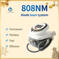 Tragbare Diode Laser 808 Haarentfernung Maschine Diode Laser-System 808nm