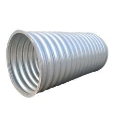 製造業者によって電流を通される波形の鋼管の排水渠