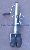 Jockey-Rad des Schlussteil-2000lbs, Jack-Rad Jw1605 (Doppeltes 6-Zoll-festes Gummirad) Forward Industry Group Company