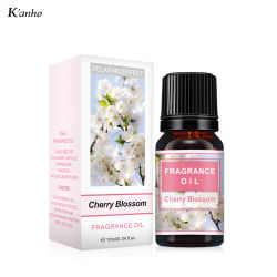 Kanho 10ml Parfum Cherry Blossom 100% naturel d'huile essentielle de l'Aromathérapie Huile pour le diffuseur de parfum soluble dans l'eau