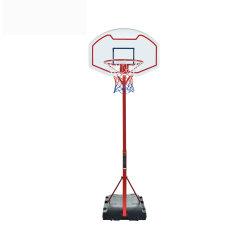 Höhe justierbarer PET Unterseiten-Rückenbrett-Basketball-Band-Standplatz für Kinder mit Ring