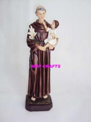 카톨릭교 조각품의 Polyresin 동상