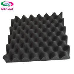 Papelão Ondulado preto de borracha para isolamento acústico de Geradores