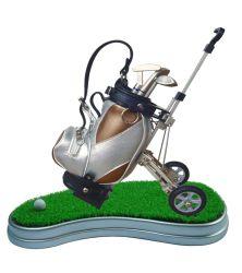 Titular de la pluma de golf sin reloj personalizados están disponibles o no.