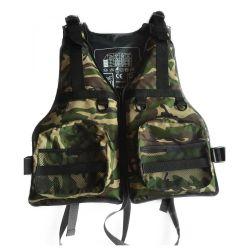 CE-goedgekeurd fabrieksprijs Watersport Kayak Canoe Pedling Life Jacket Life Vest voor volwassenen en kinderen