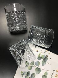 قديم نمو آلة يضغط كلاسيكيّة ينقش [وهيكسي] زجاجيّة برميل دوّار زجاجيّة فنجان لأنّ [هوتل بر] إستعمال