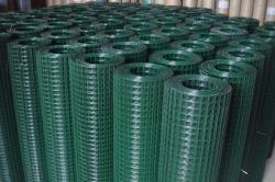 """Hot Sale gelaste draad met PVC-coating, Metail-draad Saldering van 1/4"""" tot 3"""""""