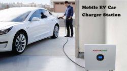2.4kwp 3.6kwh Hybrid Solar Energy Storagy System e mobile EV Stazione di ricarica per auto e alimentatore per esterni