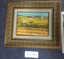 Antieke afwerking Houten Molding Frame voor olieverfschilderij, foto, beeld en spiegel