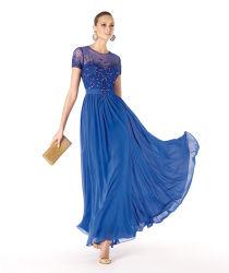 نمو يرتدي أمو من العروس ثياب طويلة شريط كوكتيل [بروم] كم قصيرة
