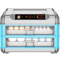 디지털 온도 습도 다기능 소형 소형 크기 산업용 완전 자동 농장 Quail Goose 터키용 가금류 닭고기 계란 부화 인큐베이터 새