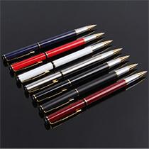 Peste caneta de metal do Rolete de Metal Caneta Promocional barata abraçadeira metálica o logotipo personalizado