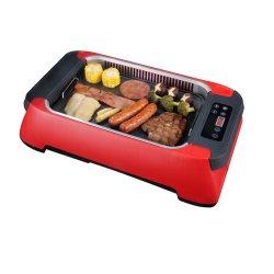 Barbecue électrique intérieure amovible Grill Barbecue de table de cuisson sans fumée