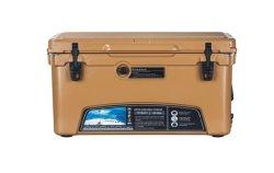 Kuer 110qt 대형 캠핑 과일 아이스 쿨러 박스 휴대용 생선 소풍을 위한 쿨러 박스