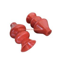 De unieke van het Ontwerp van Blaasbalg Flexibele Pu Plastic Uitloper van het Type voor de Delen van het Stuk speelgoed