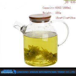 Vorzüglicher heißer verkaufender Glasflaschen-Tee-Potenziometer für täglichen Gebrauch