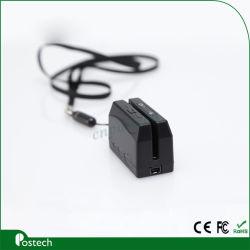 Mini300 لاسلكي (Mini DX3) قارئ بطاقات ممغنطة USB ثلاثية المسارات لجهاز iPhone