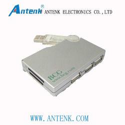 Mozzi con il lettore di schede di SD/Ms con l'indicatore chiaro del LED, supporti del USB 3-Port 52 tipi scheda di memoria di media