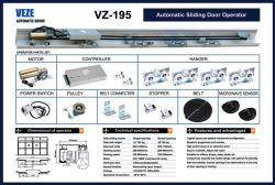 Pesada puerta deslizante automático de los operadores, los operadores de puerta hermética