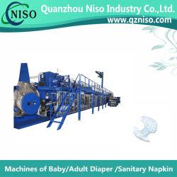 China Full-Automatic máquina de fabricación de pañales para adultos con el equipo (CNK CE250-VHS)