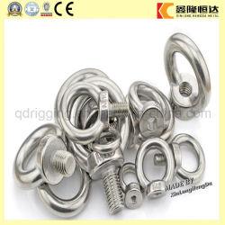 Calage d'acier inoxydable du boulon d'oeil de JIS1168 DIN580 M16