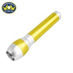 2D torcia elettrica superiore dello zoom della superpotenza della batteria della batteria 2AA