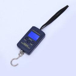 Мини-синей подсветкой портативный ручной клади шкале 40кг