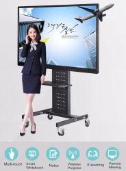 75-дюймовый ЖК-экран Samsung прозрачной рамке школы учащийся цифровой доски