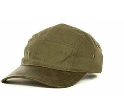 2016 nuovo cappello/cappuccio in tela a 5 pannelli in legno a bottoni alla moda