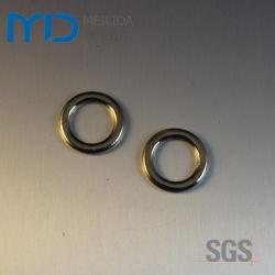 Anéis redonda de metal e Loops para sacos de vestuário e calçado
