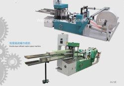 2 Camadas 1/8, 1/2 Dobre 1-2 Tabela de Cores guardanapo tornando guardanapo da máquina a máquina de papel