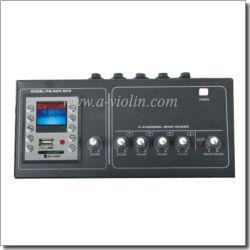 sezione comandi mescolantesi del DJ di guadagno 20dB con il MP3 immesso (ADM-120AMP)