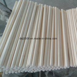 Tubo di ceramica dell'allumina ad alta resistenza per i forni industriali