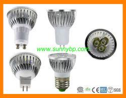3W GU10 LED 스포트라이트 (할로겐 20W를 대체하십시오)