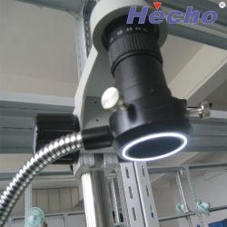 دليل استخدام المجهر ضوء حلقة حزم الألياف البصرية