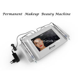 Nuevo digital con pantalla táctil el maquillaje permanente de la máquina para cejas y labios