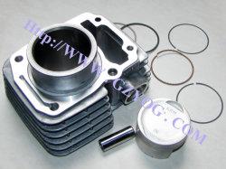 Cilinder van de Norm Dy90 St70 Cbf125 CB125 Cg125 Cg150 Cg200 YAMAHA Fz16 Italika van het Blok van het Ijzer van de Pakking van de Ringen van de Zuiger van de Uitrusting van de Cilinder van de Delen van de Motorfiets van Yog de Volledige voor Honda