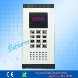Accesorio de Pabx Excelltel CDX-103 Teléfono de la puerta cubierta de metal