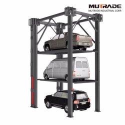 3 4 hydraulique du véhicule Parking voiture de stockage de l'élévateur du réceptacle