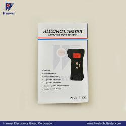 Fabricant de l'utilisation personnelle de piles à combustible commercial (capteur modulaire) Portable alcootest Testeur d'alcool