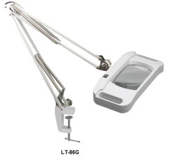 Lt-86g квадратные светодиодные лампы Лупа Flourescent 10X 15X 20X