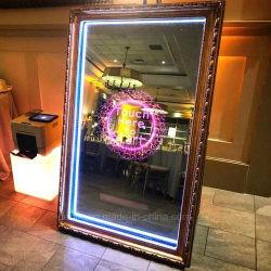 Magia dell'affissione a cristalli liquidi di Dedi 32inch che fa pubblicità allo specchio astuto dello schermo di tocco