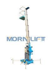 Envoi manuel de l'antenne de mât de levage vertical