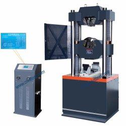 Pantalla digital de tracción hidráulica de la columna de acero de seis pruebas de máquina universal