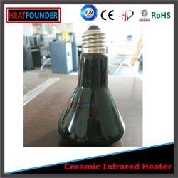 Les Lampes en céramique à infrarouge de la chaleur infrarouge de l'ampoule de chauffage en céramique